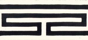 barra Grega branco epreto positivo