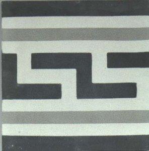 faixa grega II cinza claro c. normal preto