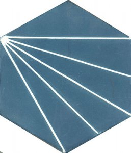 Sextavado-prisma-