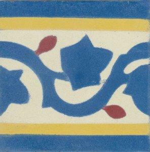 barra francesinha 10x10 azul colonial,marfim,am