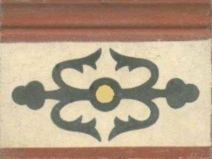 r.lotusII brick v.escuro marfim amar. can