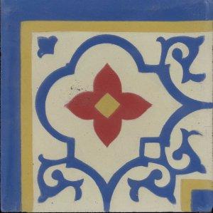 c.f.árabe azul anil.m,amarelo most,verm esp