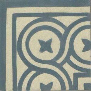 canto f. flor 2 azul aciz. marfim